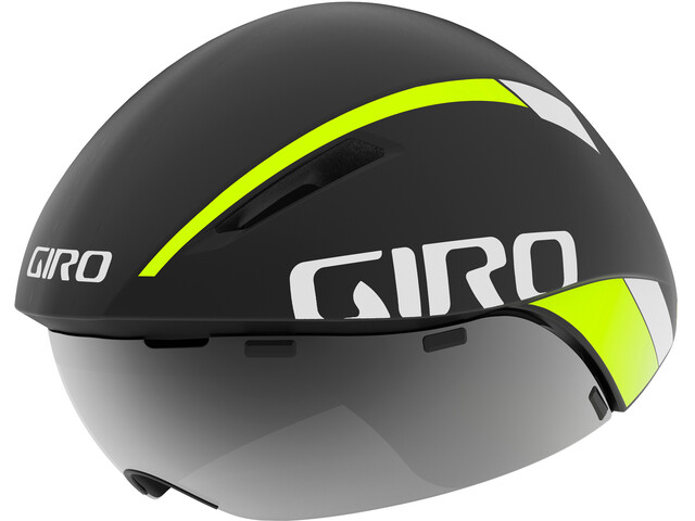 Giro Aerohead MIPS Kask rowerowy, matte black fade/highlight yellow